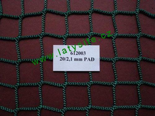 Ochranná síť 20 mm-21 PAD