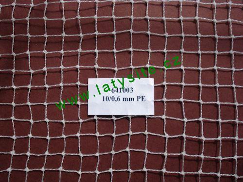 Ochranná síť 10 mm-6 PE