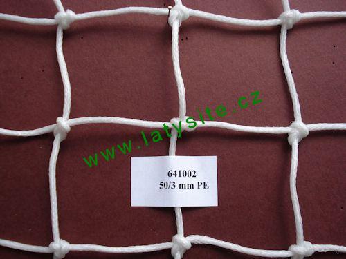 Ochranná síť 50 mm-3 PE