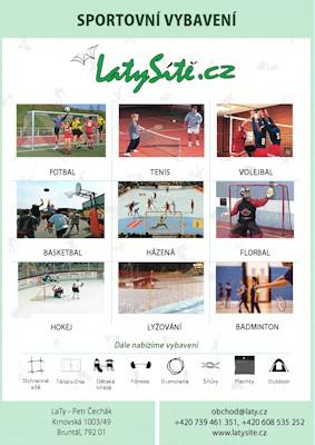 LaTy - Katalog Sportovní potřeby